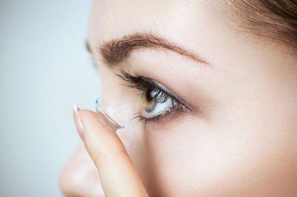 Vente de produits d'entretien lentilles